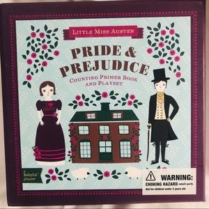 NWT gift item! 🎁 Pride & Prejudice baby play set
